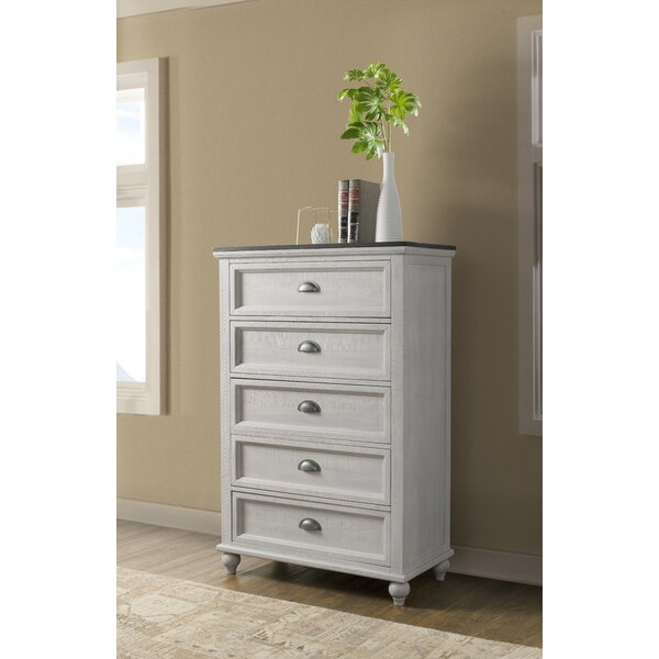 Risner 5 Drawer Chest by Gracie Oaks
