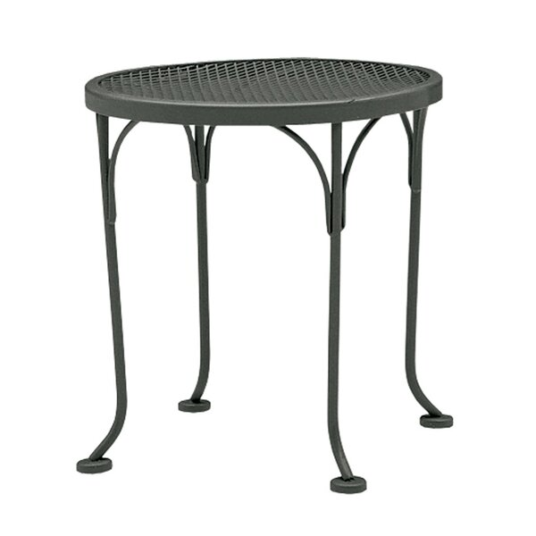 Briarwood Metal Side Table by Woodard