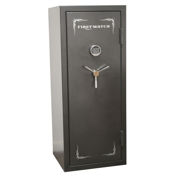 16 Fire Resistant Gun Safe with Electronic Lock by Homak