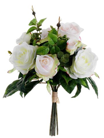 Rose Bouquet by Silk Flower Depot
