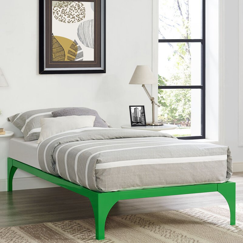 Wooden Pallet Bed Frame | Wayfair