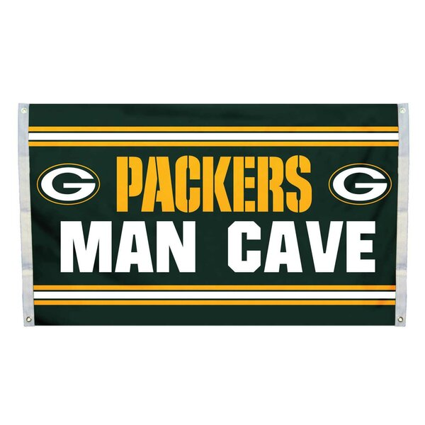 NFL Man Cave Polyester 3 x 5 ft. Banner by NeoPlex