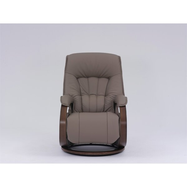 Dreyer Genuine Leather Swivel Recliner W001596976