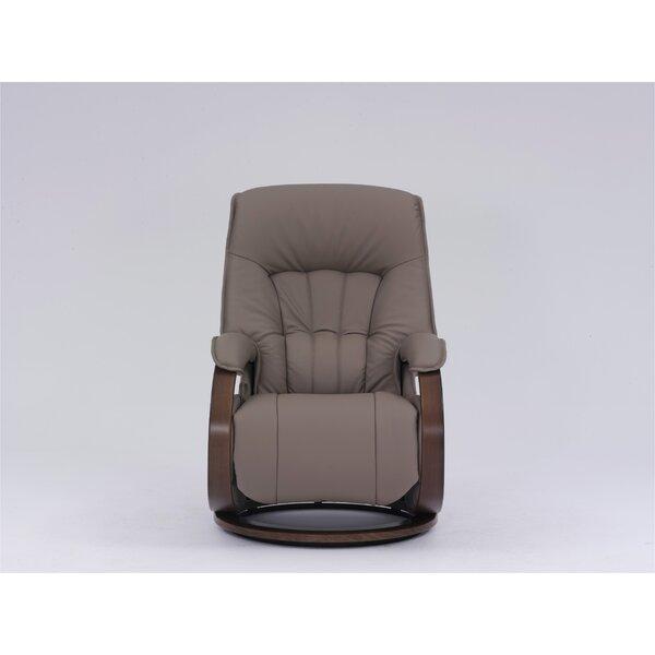 Dreyer Genuine Leather Swivel Recliner W001596976