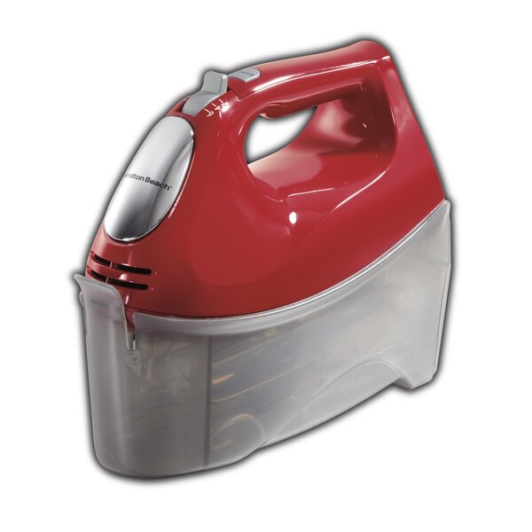 Ensemble Hand Mixer with Snap On Case by Hamilton Beach