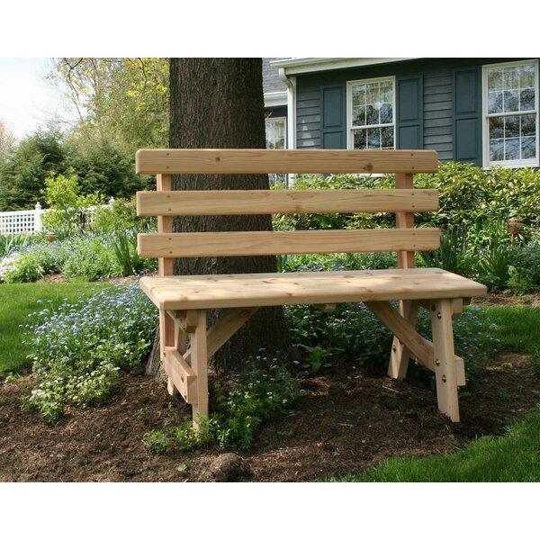 Celestiel Backed Park Bench by Rosalind Wheeler