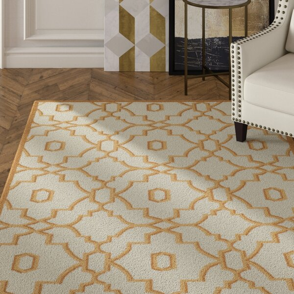 Maeve Ivory/Tan Area Rug by Mercer41