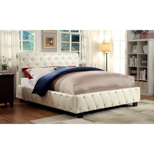 Jacinda Upholstered Platform Bed by Hokku Designs
