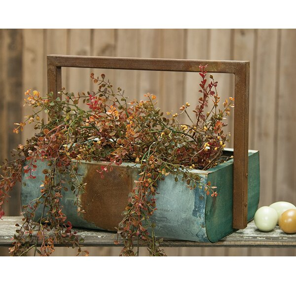 Metal Planter Box by The Hearthside Collection