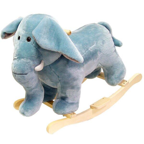 Plush Elephant Rocking Animal by Happy Trails