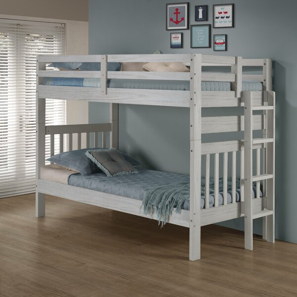 Jenafir Twin Over Twin Bunk Bed By Winston Porter by Winston Porter Savings