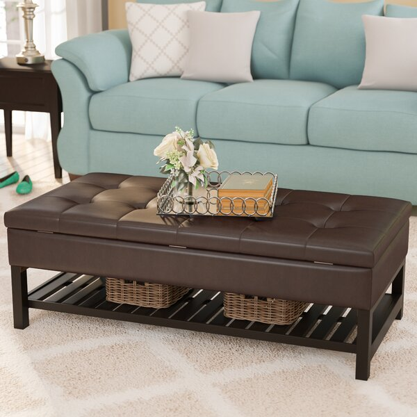 Fremont Storage Ottoman by Alcott Hill