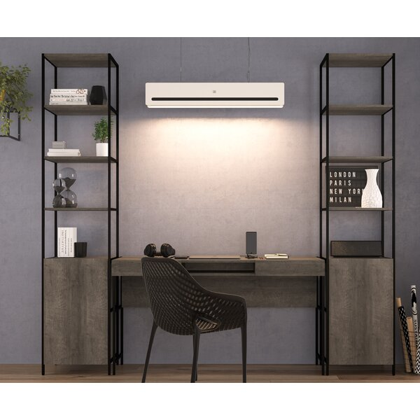 Blue Point 3 Piece Desk Office Suite by Foundry Select
