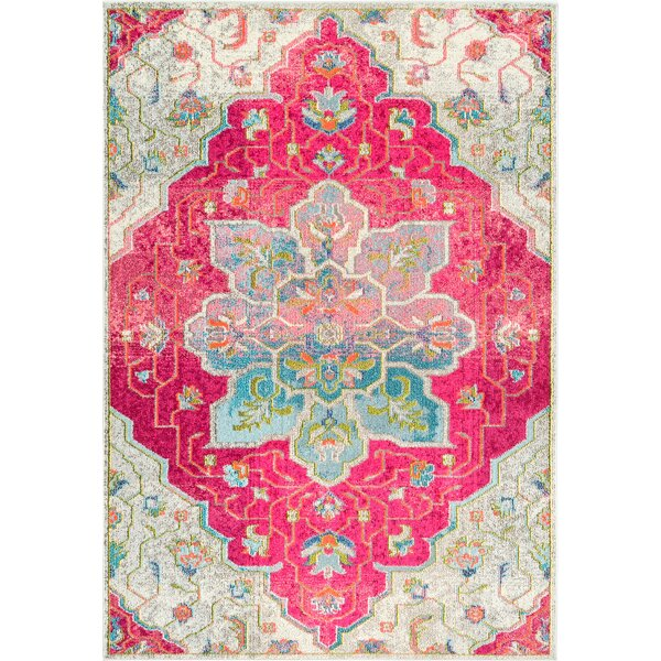 Maricopa Pink/Blue Area Rug by Bloomsbury Market