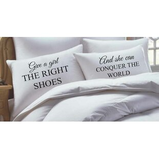 2 Piece Marilyn Monroe Inspired, His Hers Pillowcase Set