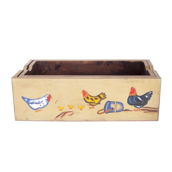 Farm Art Wood Planter Box (Set of 2) by Antique Revival