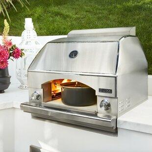Built Incountertop Napoli Outdoor Pizza Oven