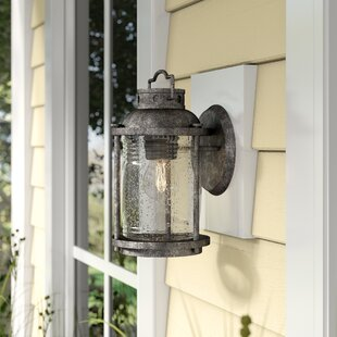 Great choice Galsworthy 1-Light Outdoor Wall Lantern By Beachcrest Home