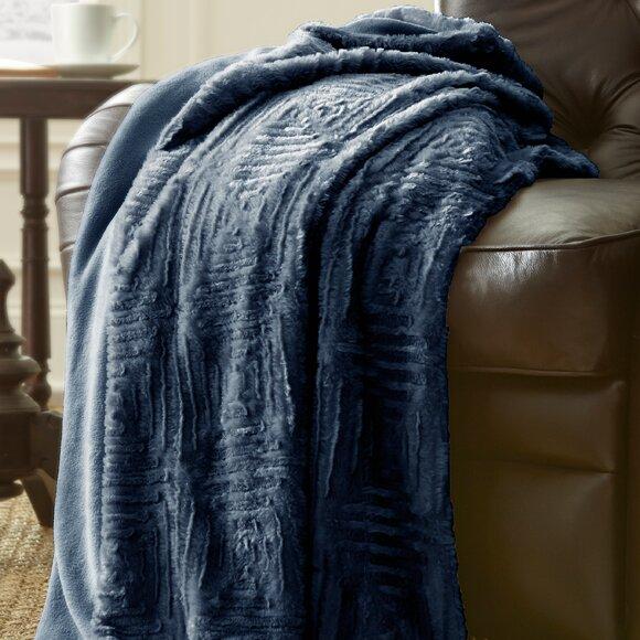 Dillon Luxury Throw Blanket by Mistana