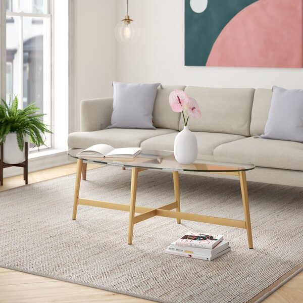 Emma Oval Coffee Table By Foundstone