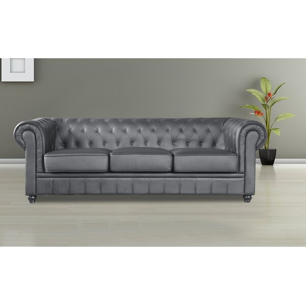 Dashing Style Girard Chesterfield Sofa by Canora Grey by Canora Grey