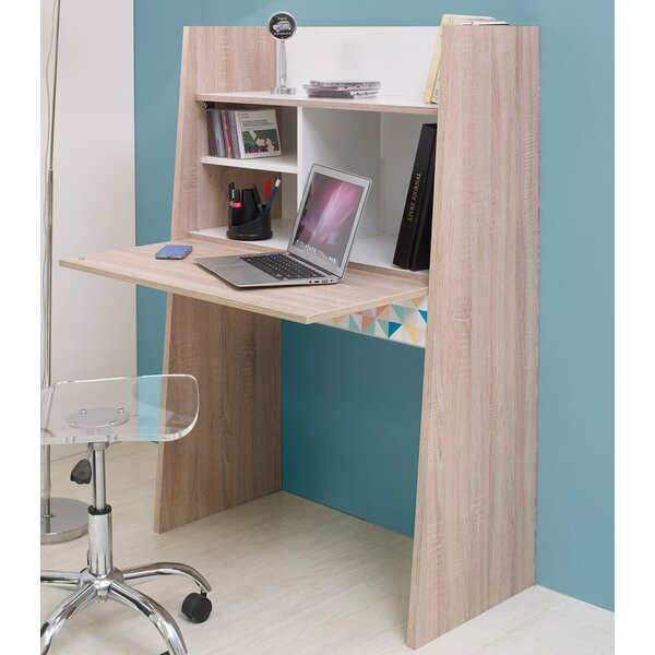 Dietrich Colors Desk with Hutch by Ebern Designs