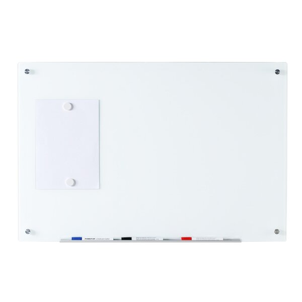 Magnetic Wall Mounted Glass Board by Audio-Visual Direct