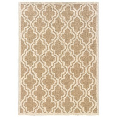 Baume Beige Area Rug by One Allium Way