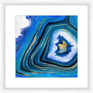Geoid I Framed Graphic Art by PTM Images