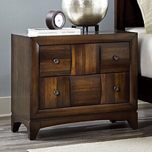Ainslie Brook 4 Drawer Nightstand by World Menagerie