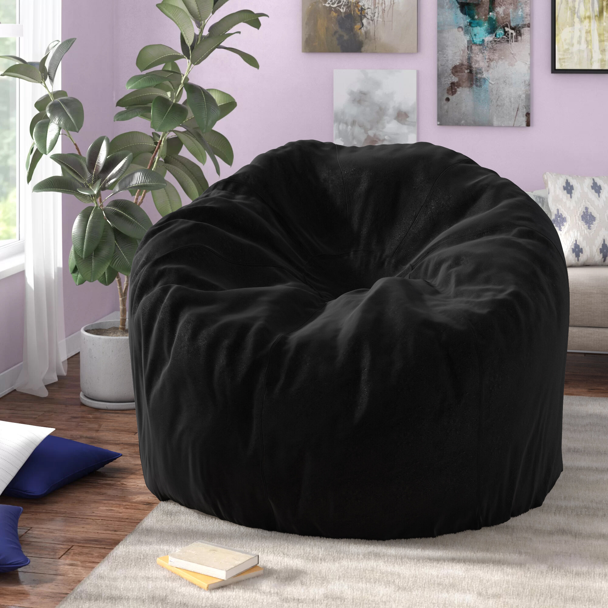 Outstanding Extra Large Bean Bag Chair Gmtry Best Dining Table And Chair Ideas Images Gmtryco