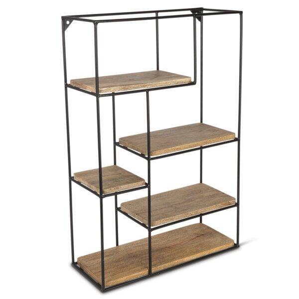 Deboer Multi-Tier Standard Bookcase by Gracie Oaks