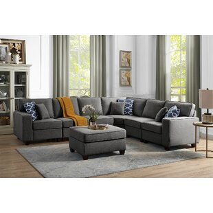 Spradlin Modular Sectional with Ottoman