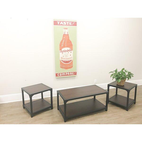 Moyo 3 Piece Coffee Table Set By Gracie Oaks