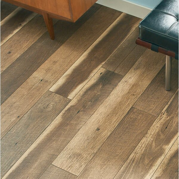 Geneva Prestige 6 x 48 x 12mm Oak Laminate Flooring in Brown by Branton Flooring Collection