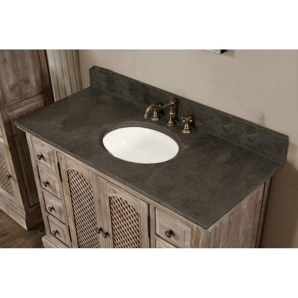 Clemmie 49 Single Bathroom Vanity Set by Laurel Foundry Modern Farmhouse
