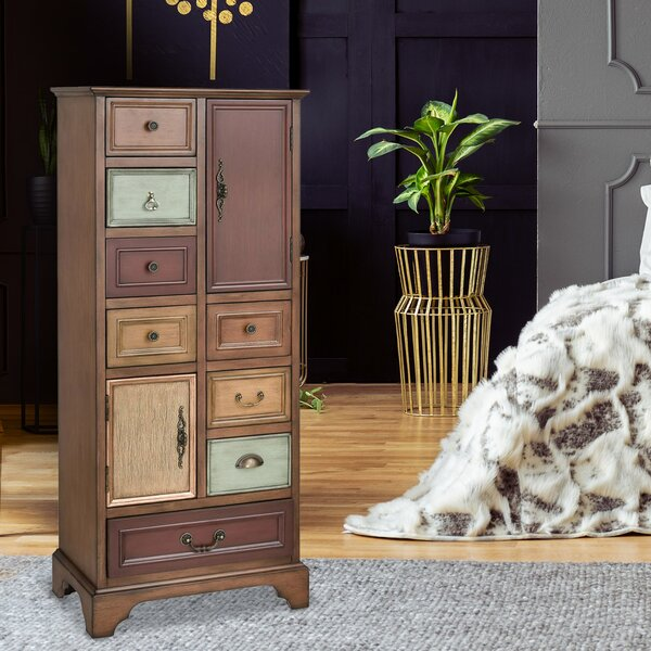Carnevale Apothecary Accent Armoire by Bloomsbury Market