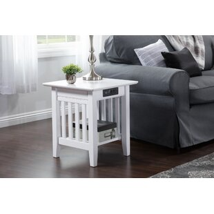Compare prices Amethy Charging Station End Table ByGrovelane Teen