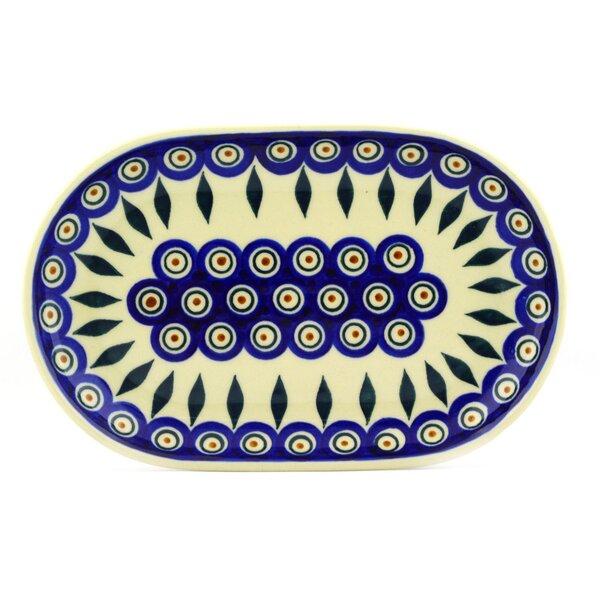 Peacock Platter by Polmedia