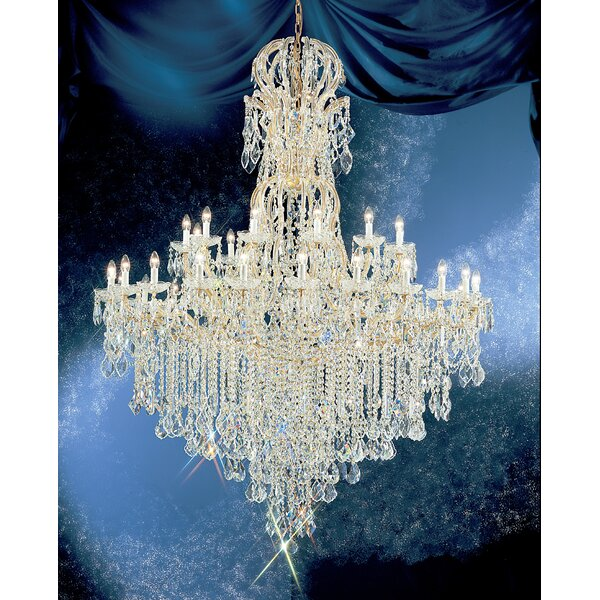 Gregson 37-Light Empire Chandelier by House of Hampton