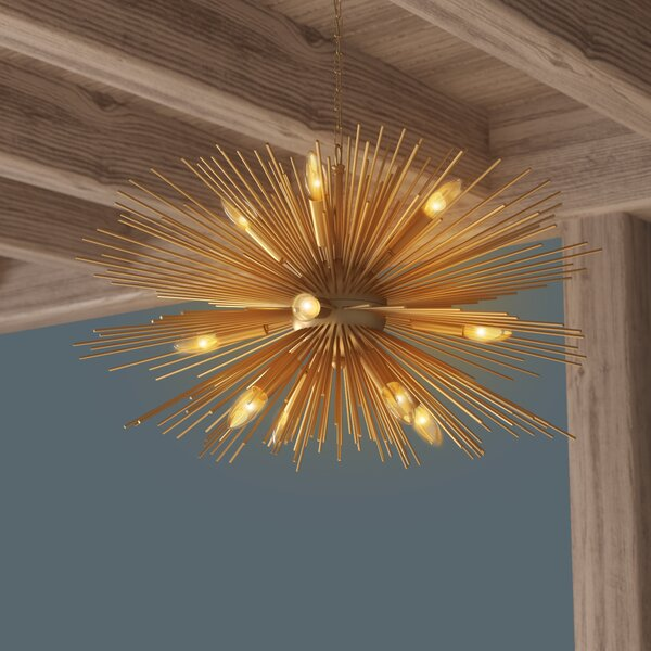 Blaise 12-Light Sputnik Chandelier by Langley Stre