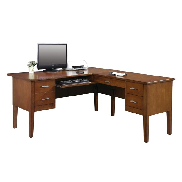 Eaton L-Shape Executive Desk by Darby Home Co