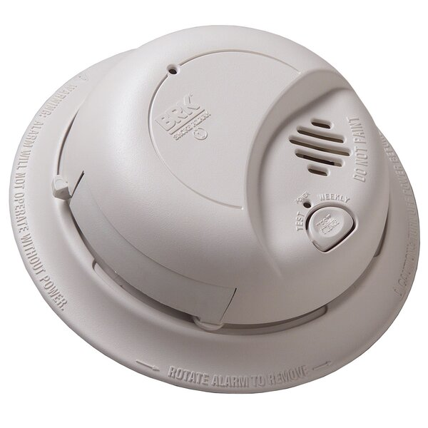 Contractor Pack Smoke Alarm with Battery Backup by