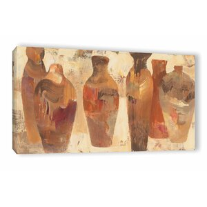 Southwestern Vessels Painting Print on Wrapped Canvas by World Menagerie