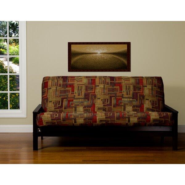 Opalo Zipper Box Cushion Futon Slipcover by Alcott Hill