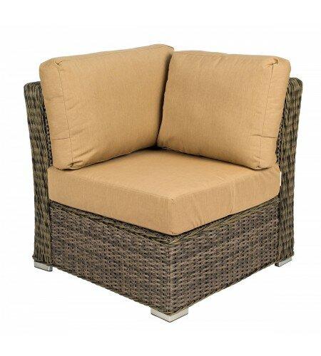Bay Shore Patio Corner Chair by Woodard