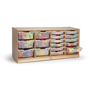 18 Compartment Cubby ByWhitney Brothers