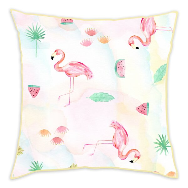 Evangeline Cotton Throw Pillow by Viv + Rae