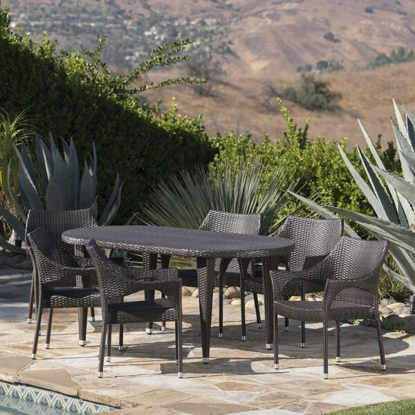 Bracondale Outdoor Dining Set by Brayden Studio