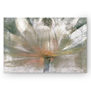 Lily Light by Mike Calascibetta Painting Print on Wrapped Canvas by Wexford Home